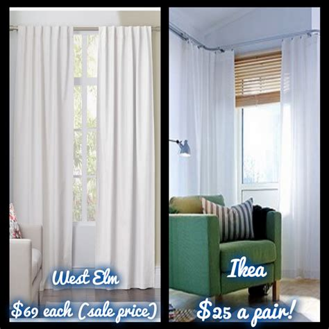 how to sew curtains by hand the west elm look on an ikea budget how to hem curtains