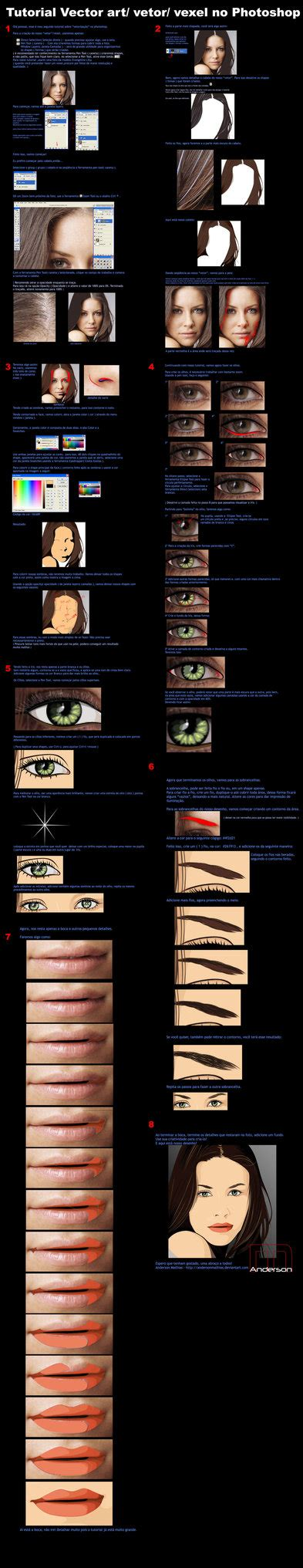 vector art tutorial photoshop cc tutorial vector art photoshop by andersonmathias on deviantart