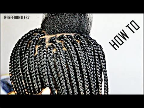 Learn How To Part Hair For Box Braids | learn how to part hair for box braids learn how to part