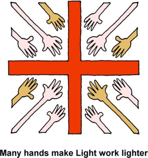 many light work bible image many extended toward cross many