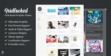 themeforest quality standards gridlocked themeforest minimalistic wordpress portfolio