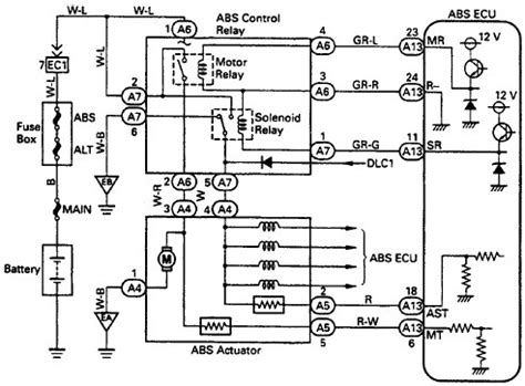 toyota abs wiring diagram wiring diagram