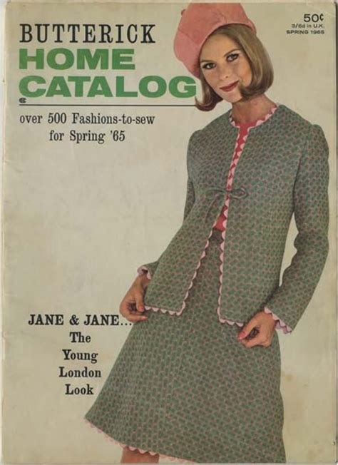 sewing pattern catalogs butterick catalog spring 1965 my vintage butterick