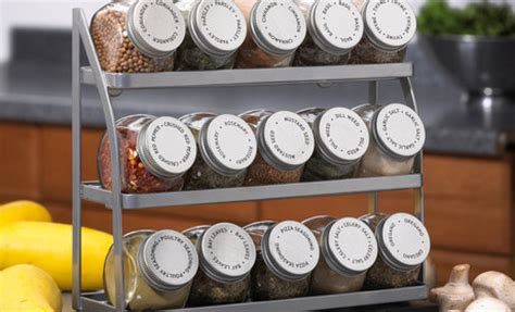 Spice Rack And Jars 24 Designs Patterns For Your New Spice Rack