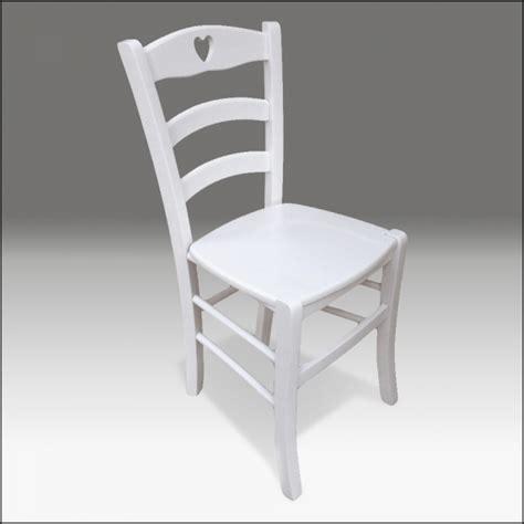 sedie bianche economiche sedie country 2 sedie in legno bianche stile shabby