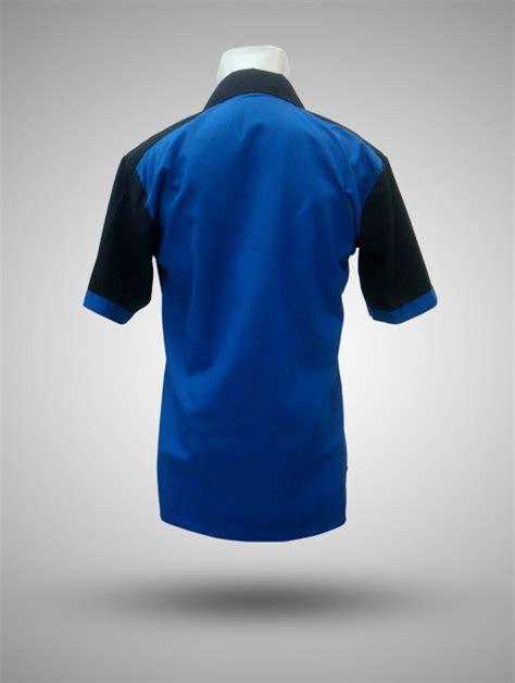 Kemeja Atlantic kemeja taipan tropical zurich biru hitam produsen kaos kemeja jaket tas promosi 08129821398