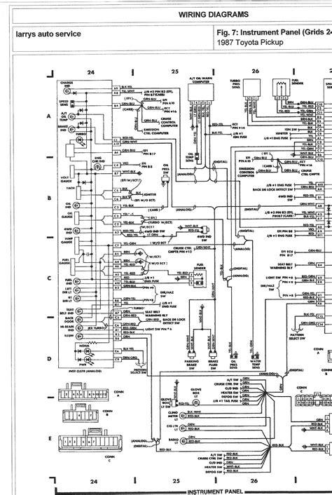 1987 Toyota Pickup Fuse Box Wiring Diagrams 24