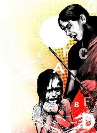 corporal punishment leaves girl    condition