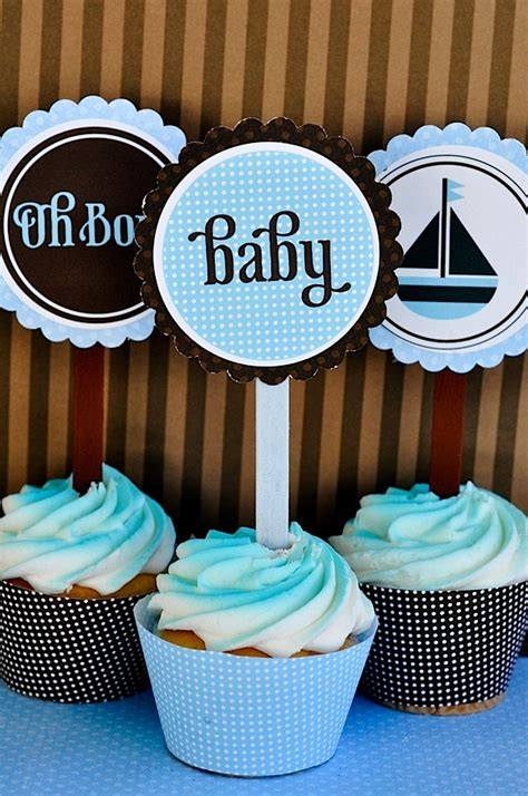 oh boy baby shower printables by love the day