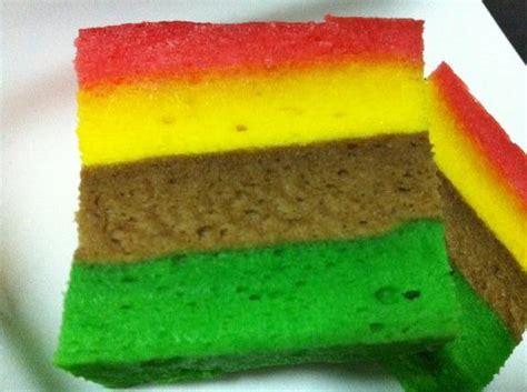 fatmumbaking 肥妈烘焙 egg white steam rainbow cake