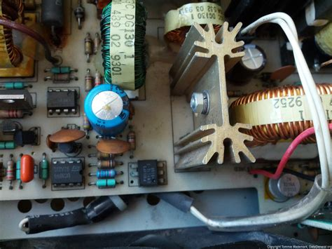 blown capacitor psu mv 3200 power supply board with blown capacitor the soul of a great machine