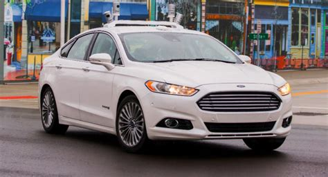 ford  accelerate  road testing  autonomous vehicles wvideo carscoops