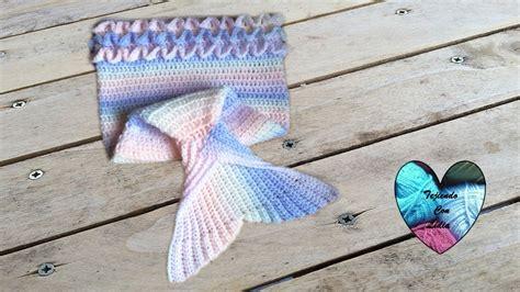 instrucciones de tejido cola de sirena cola de sirena tejida a crochet facil parte 1 queue de