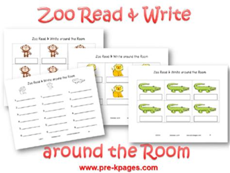 themes list read it write it tell it zoo theme activities for preschool