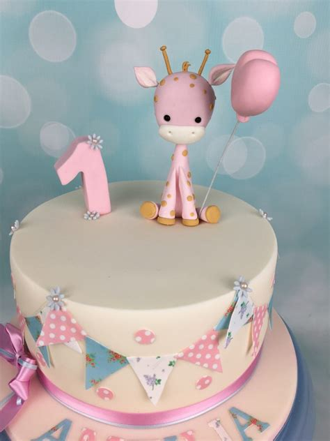 Baby Birthday Cake by Baby Giraffe 1st Birthday Cake Mel S Amazing Cakes