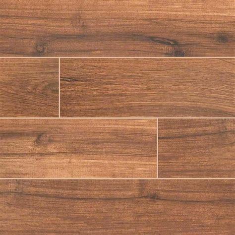 Floor Tile On Wall Palmetto Porcelain 6x36 Quot Chestnut Wood Look Tile