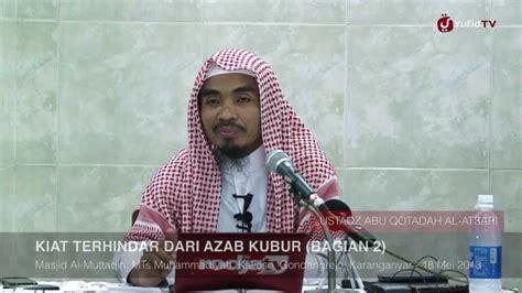 Download Mp3 Ceramah Siksa Kubur | kajian islam kiat terhindar dari azab siksa kubur