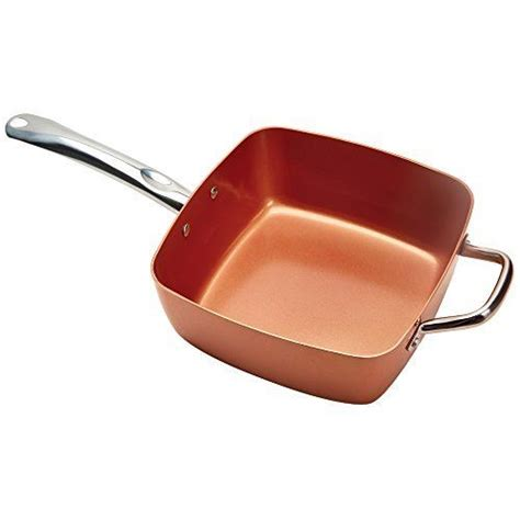 Germanium Magic Stick By Pan Pan copper chef pan copper chef is a square nonstick pan which
