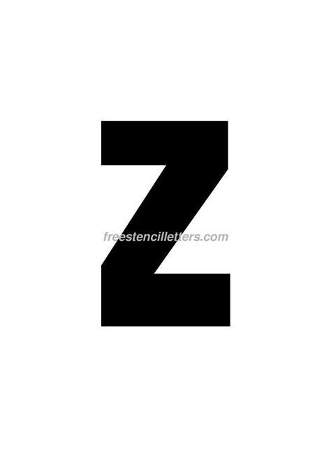printable 9 inch letter stencils print 9 inch z letter stencil free stencil letters