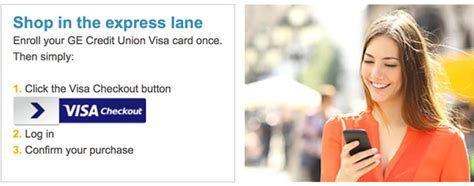 ge money bank eservice ge credit union popmoney and visa checkout enhanced