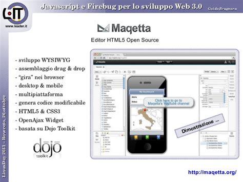 per lo sviluppo javascript e firebug per lo sviluppo web 3 0