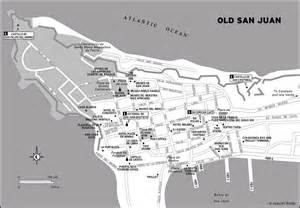 San Juan Puerto Rico Map by Map Of Old San Juan Puerto Rico