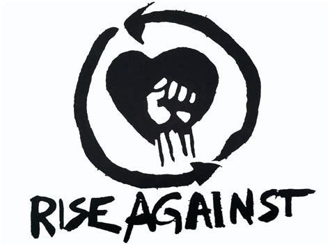 Logo Rise Against rise against inmerch ru