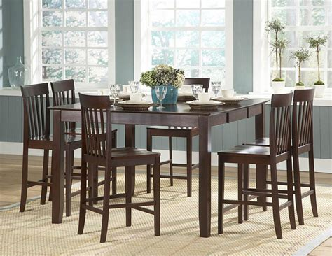 counter height dining room table sets counter height dining room tables dining room tables