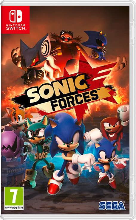 sonic forces nintendo switch nintendo