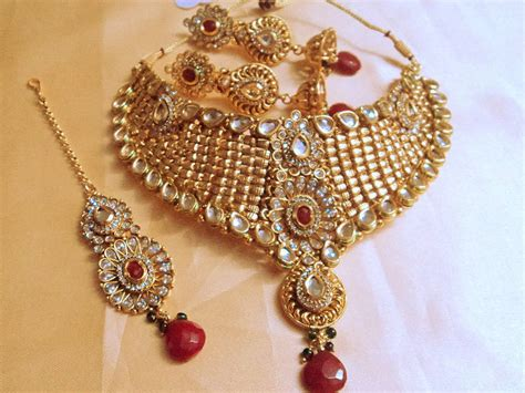 Indian Home Decor Online Shopping by Buy Designer Bridal Kundan L Polki Set Online