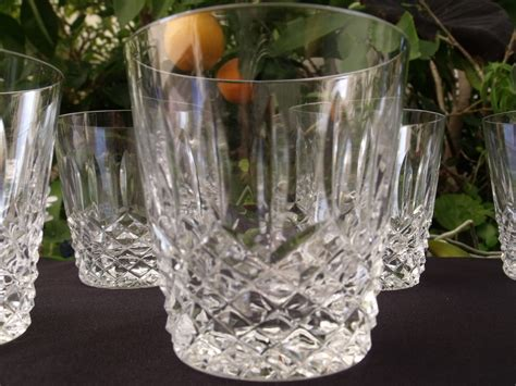fine crystal barware waterford fine crystal glasses collectors weekly