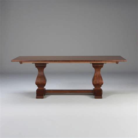 cameron dining table custom classics cameron trestle table traditional