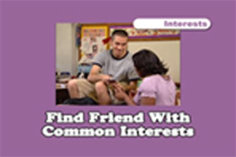 Find With Common Interests Social Skills