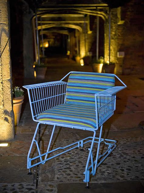 Shopping Chair by Shopping Cart Turned Into Chair By Max Mcmurdo