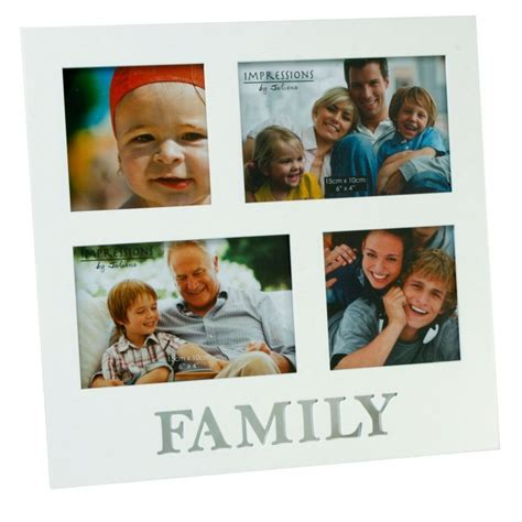family shot aperture family white multi aperture 4 photo frame gifts love kates