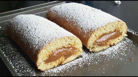 goldilocks caramel cake roll cake recipe