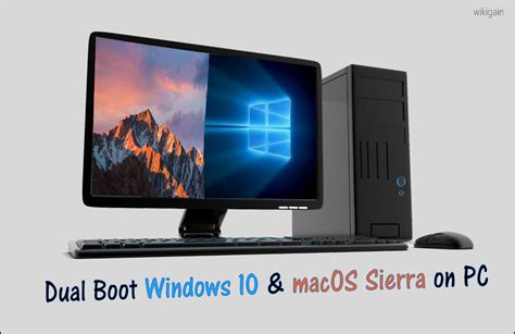 Mac Pc how to dual boot windows 10 and macos on pc