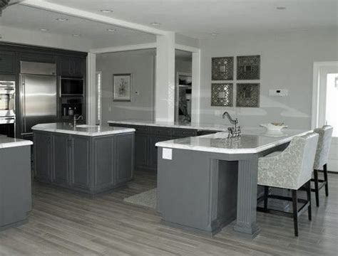 White Kitchen Cabinets Grey Floor 17 Best Images About Kitchen And Wood Flooring On Gray Cabinets Grey And Gray Kitchens