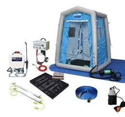 portable decon shower dat2020s sys responder decontamination shower