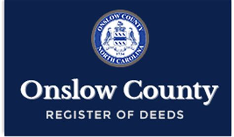 Onslow County Records Real Estate Records Onslow County Nc