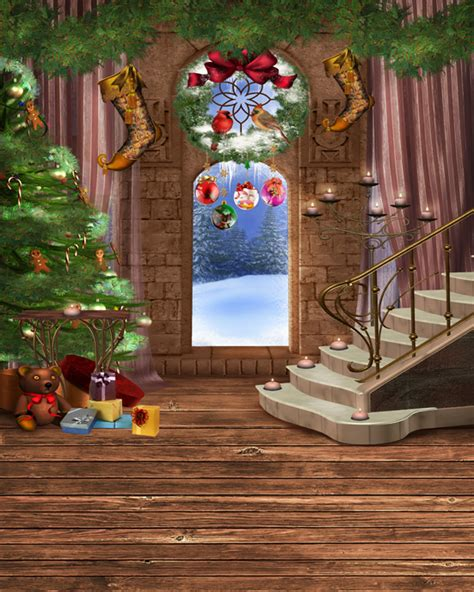 aliexpress com buy archy door christmas tree staircase