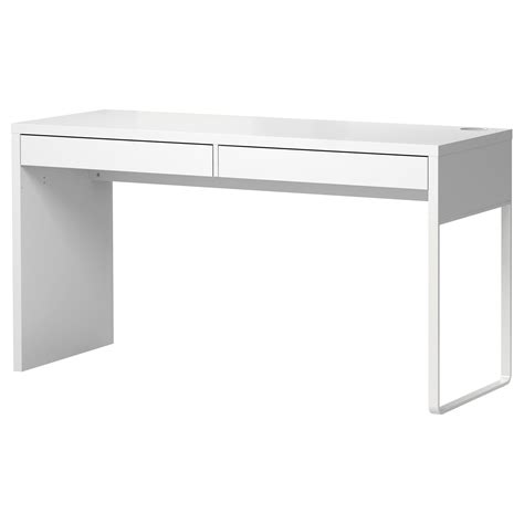Micke Desk White 142x50 Cm Ikea Desk Ikea White
