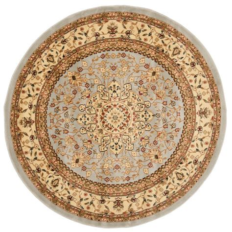 Safavieh Lyndhurst Gray Beige 6 Ft X 6 Ft Round Area Rug 6 Foot Area Rugs