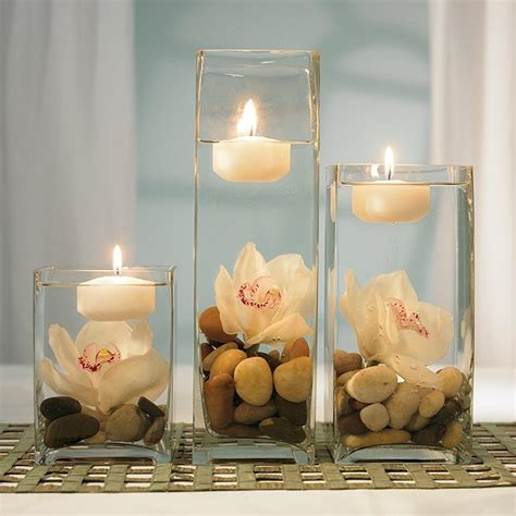Glass Pebbles For Vases Decoration For Wedding Reception Table Wedding