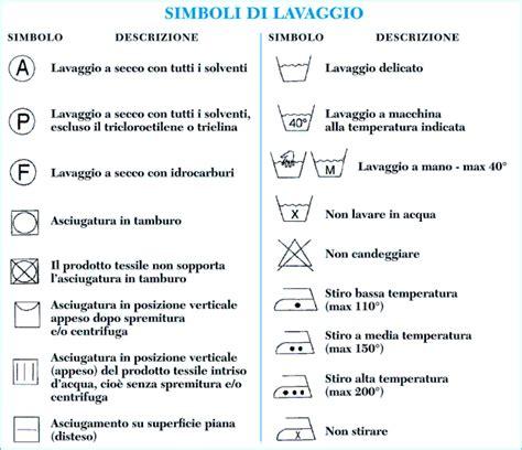Simboli Capi Da Lavare by Pulitura 2m Simboli Di Lavaggio Etichetta Di