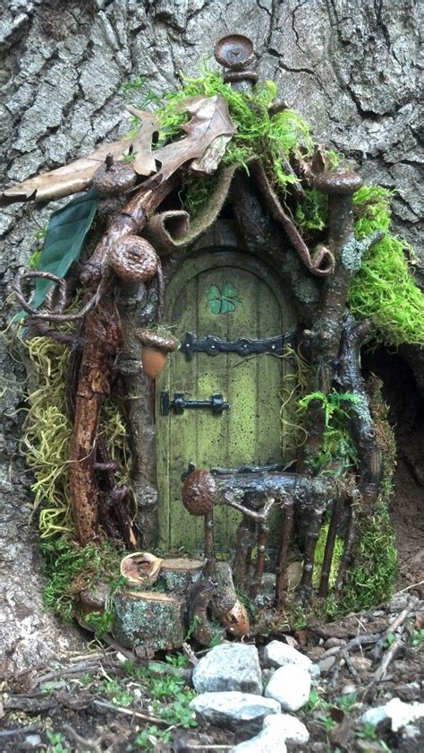 buy fairy house this is adorable one day when we have a big tree in our garden we can buy one of these doors
