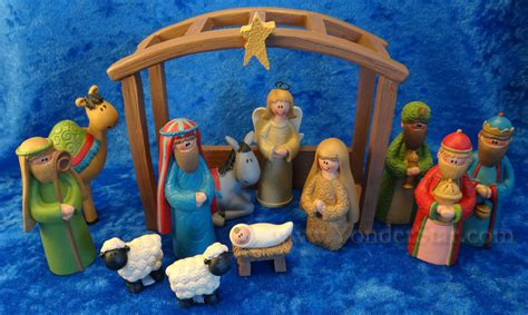 13 piece nativity scene