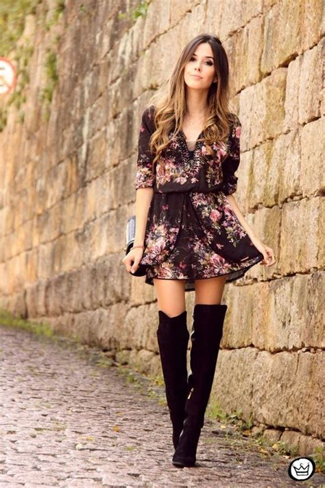17 Most Fashionable The Knee Boots by 20 Stylish Ways To Wear Suede The Knee Boots Style