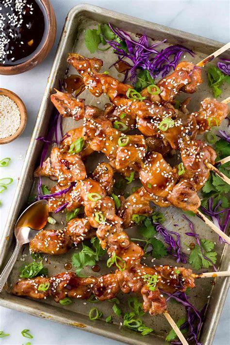 An Yukitri easy japanese chicken yakitori recipe gavin