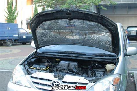 Peredam Kap Mesin Innova 2013 inilah manfaat peredam panas mobil